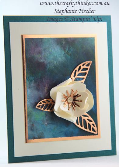 #thecraftythinker #stampinup #magnoliamemory #cardmaking #3dmagnoliacard #goodmorningmagnolia , Magnolia Memory, 3D magnolia card, Stampin' Up Australia Demonstrator, Stephanie Fischer, Sydney NSW
