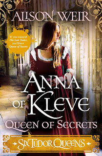 Anna of Kleve - Queen of Secrets by Alison Weir book cover
