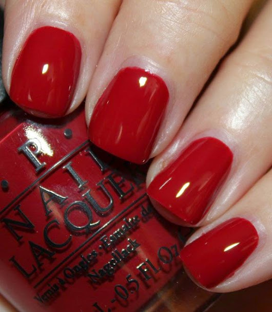 30 Hot Red Nails for Women