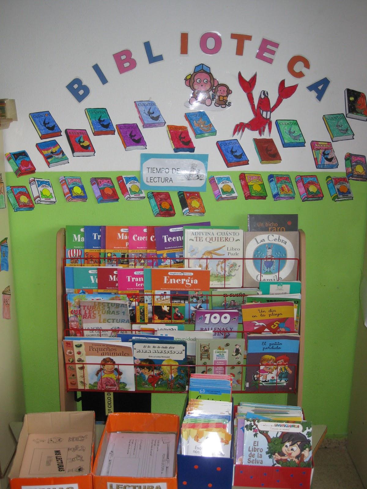 El blog de marci biblioteca de aula - Decorar un rincon del salon ...