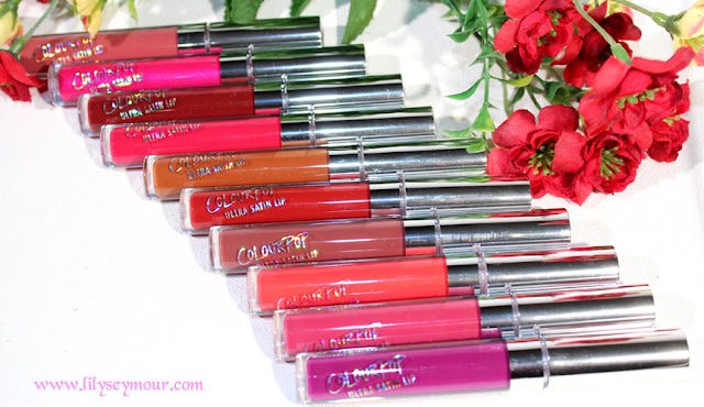 Colorpop Ultra Satin Lip Stains