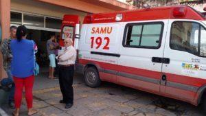 Assaltante se assusta com sirene do Samu, pula de ônibus e morre no Espírito Santo