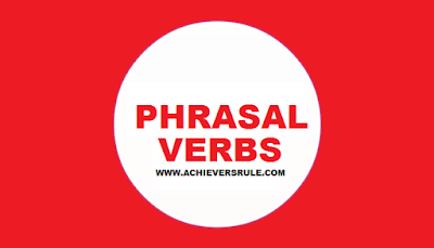 Phrasal verbs - Explained in Easy Language
