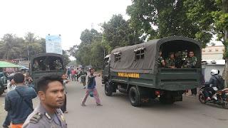 TNI Turun Tangan Ikut Bantu Amankan Bentrok Ojek Online dan Angkot di Bogor