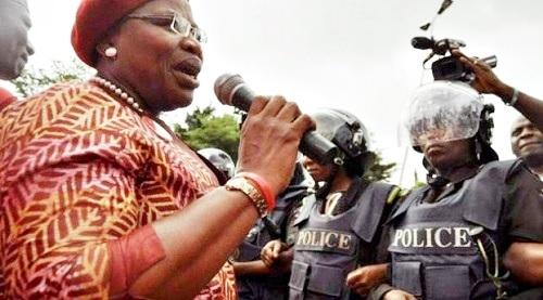 We're Reminded of Military Era - Oby Ezekwesili Speaks on How Police Blocked #BBOG Protesters