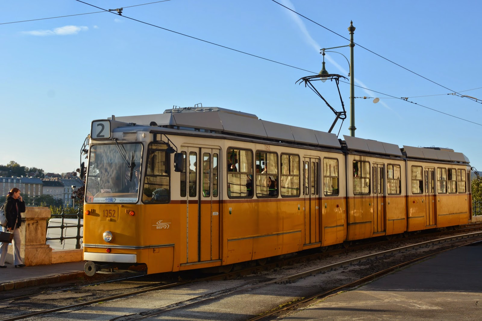 Budapest number two tram