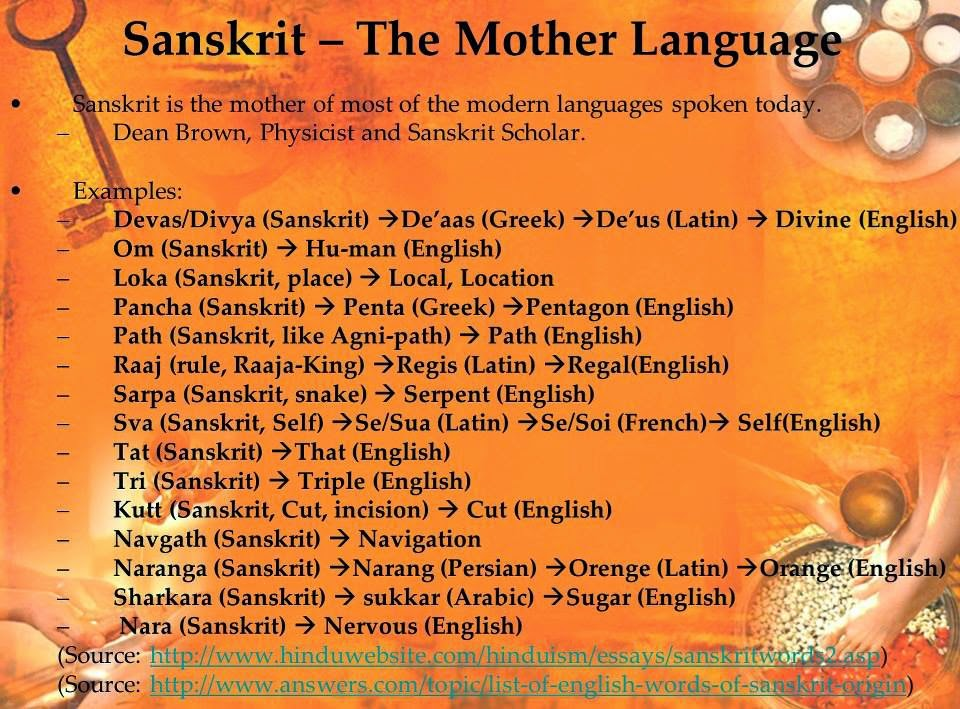 Sanskrit Of The Vedas Vs Modern Sanskrit: Sanskrit-computer-friendly Language