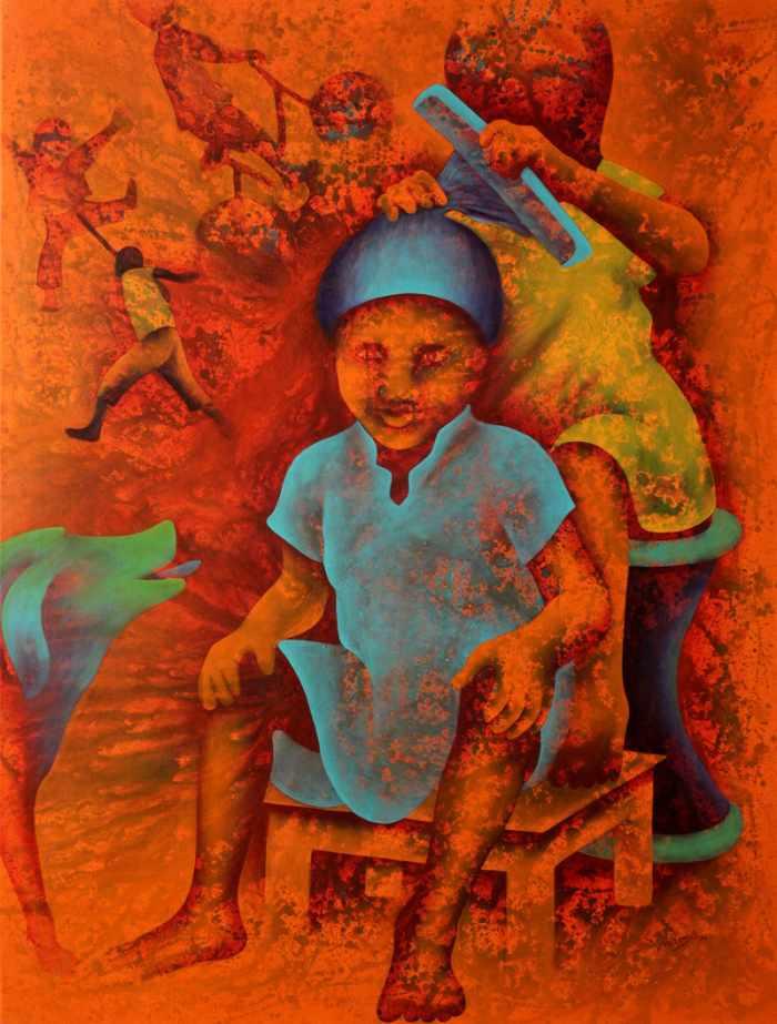 Ребенок внутри. Lakhan Singh Jat
