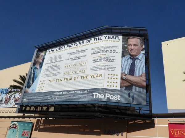 Post Best Picture consideration billboard