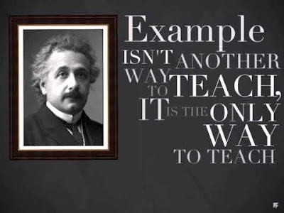 Insightful quote from Albert Einstein