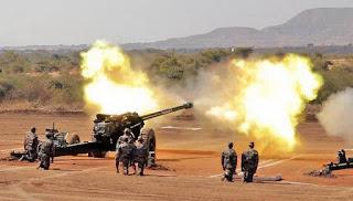 M777 Howitzer artillery gun
