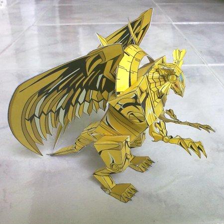 Yu Gi Oh Winged Dragon Of Ra Papercraft