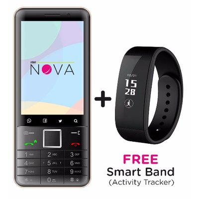 Nova-Grey-Smartphone-Activity-Tracker
