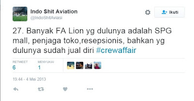 skandal pramugari Lion Air
