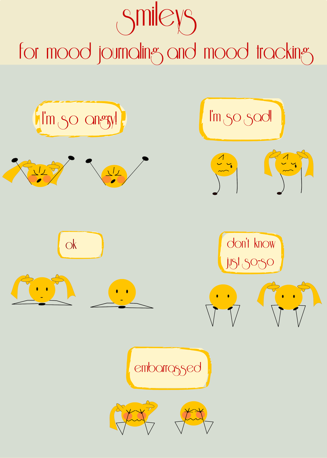 Free Smiley Icons For Mood Charts Part 1 Scrap Smiley S Smiley Clipart Graphics