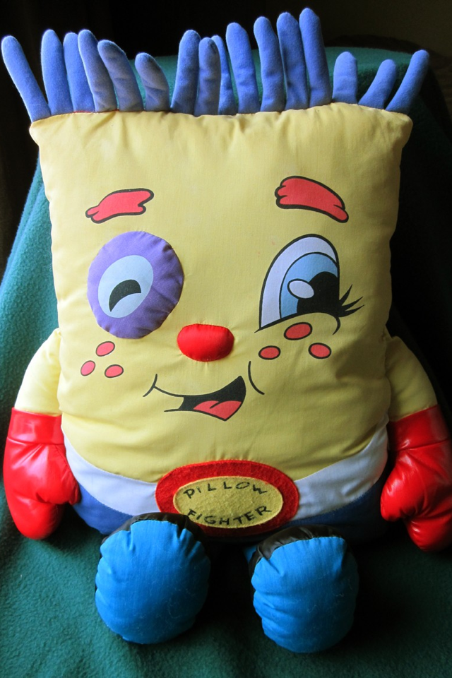 The Clock Blog: Halloween Costumes 2012: Pillow People!!