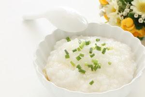 Bubur nasi putih polosan