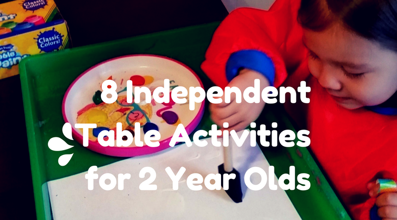 8 Independent Table Activities For 2 Year Olds Wiley