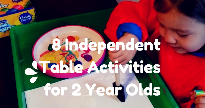 8 Independent Table Activities For 2 Year Olds