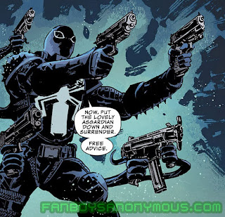 Read Agent Venom's tenure in the Secret Avengers on Comixology and the Marvel Comics app