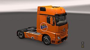 Fanta skin for Mercedes MP4