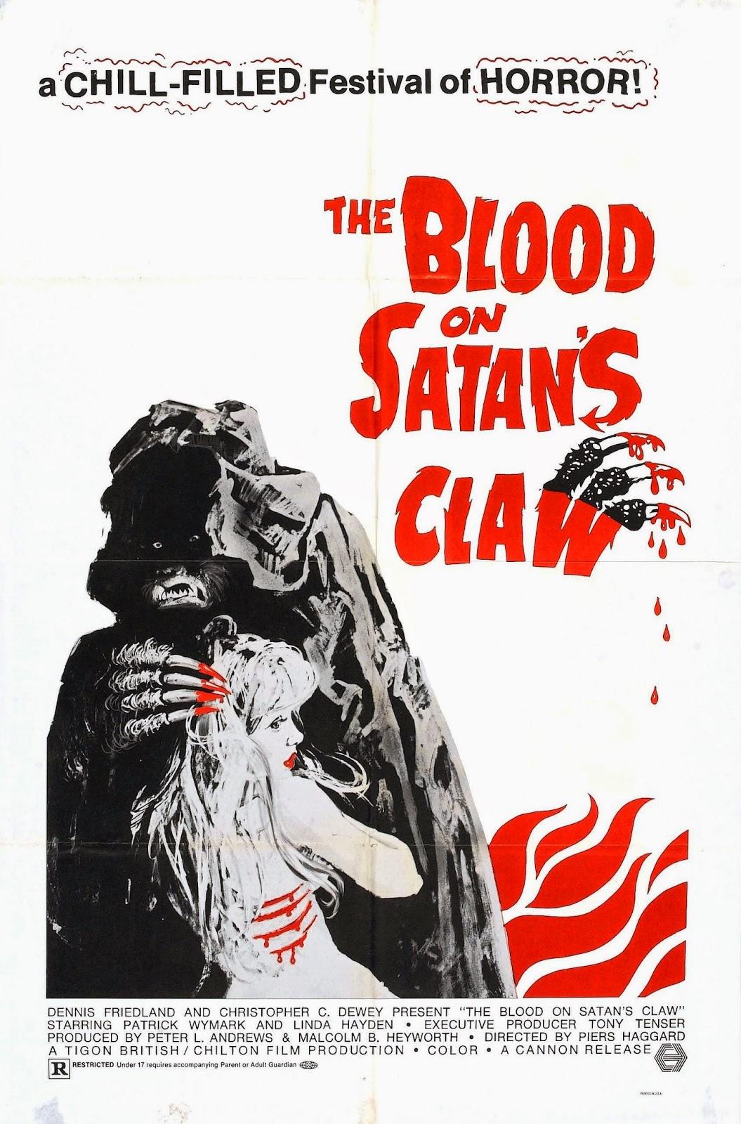 Vintage Horror Films La Garra De Satán 1971 Español Castellano