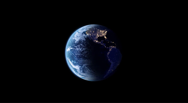 Blue Earth One Wallpaper Engine