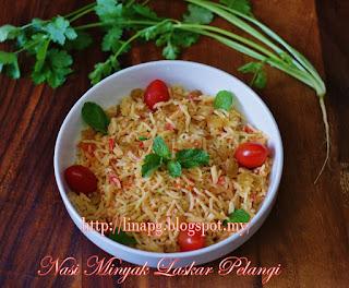 Nasi Minyak Berempah, Nasi Minyak Senang Dan Sedap