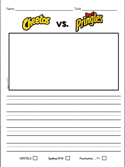 Letter writing template for first grade letter to a for Letter writing template for first grade