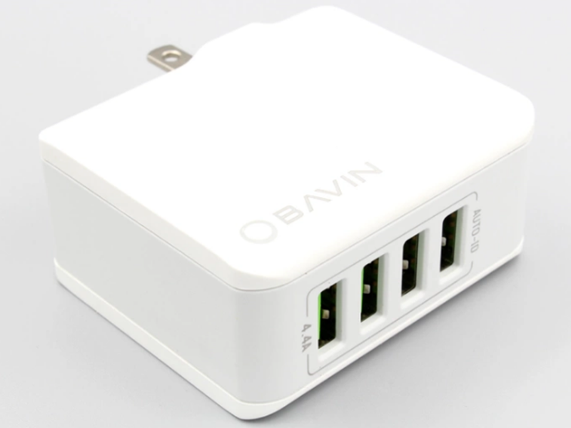 Bavin 4U 4.4A Four Port USB Fast Charger Is Priced At PHP 499 Only!