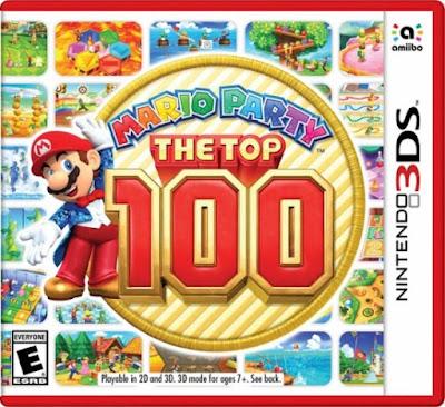 Mario Party The Top 100 CIA 3DS USA
