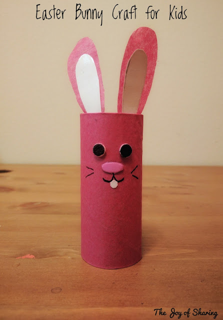Easter, Craft Idea, Kids Craft, Toilet Paper Roll Tube Craft