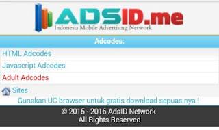 adsid iklan pil Cara mendapatkan Pulsa gratis dari Internet dengan AdsID.me