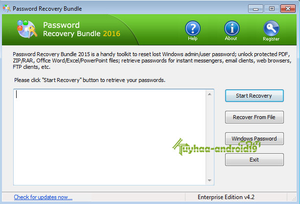 password Bundle Recovery 2016