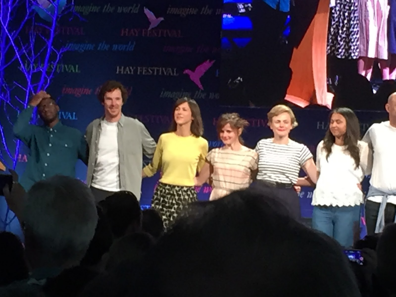 Benedict Cumberbatch, Louise Brealey and Sophie Hunter