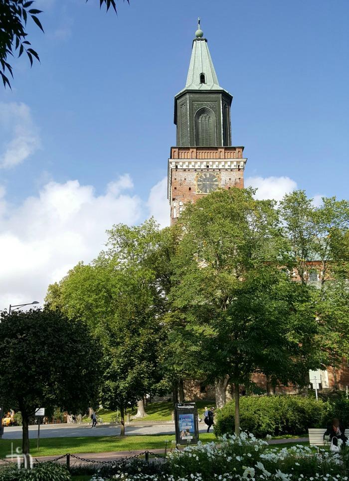 Turun tuomiokirkko elokuussa 2017