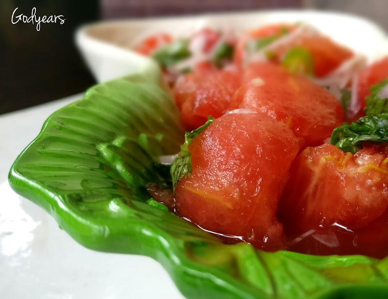 Recipe - Spicy Watermelon Salad