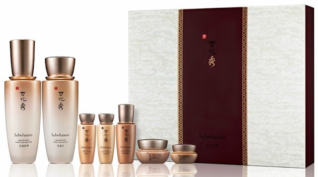 Sulwhasoo Gift Sets, Holiday Moments, sulwhasoo, skincare, korea skincare, Sulwhasoo Timetreasure Duo Set