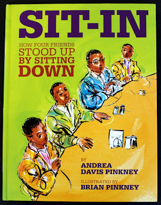 A fabulous book about a student-led protest that took place during the Civil Rights Movement. This blog post contains a FREE follow-up writing activity, too!