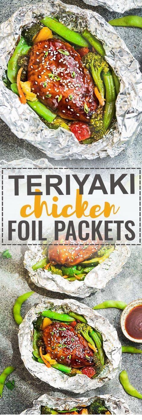 Teriyaki Chicken Foil Packets