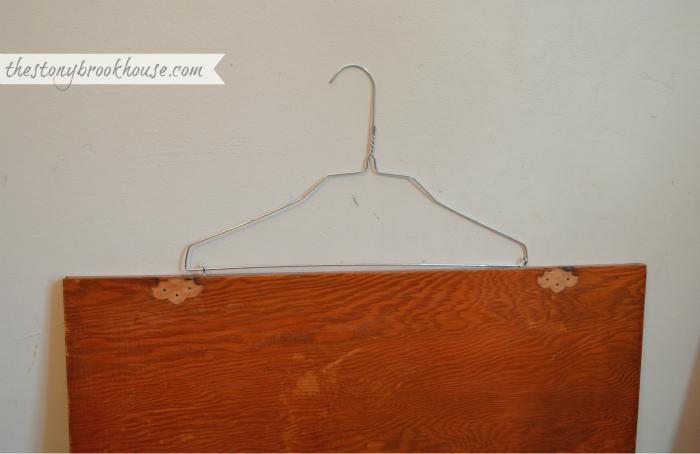 hangars to hang cabinets