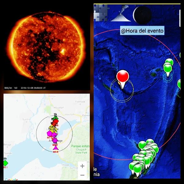 ALERTAS: viento solar esta provocando fuertes terremotos.