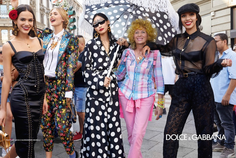 Dolce & Gabbana spring-summer 2019 campaign
