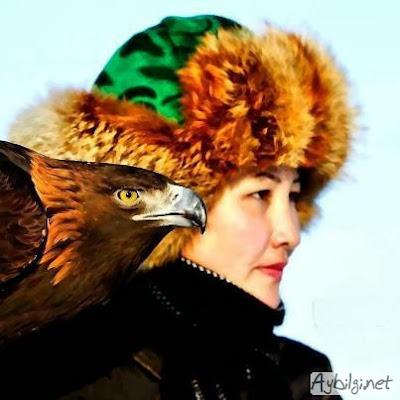 Kazak Kadını