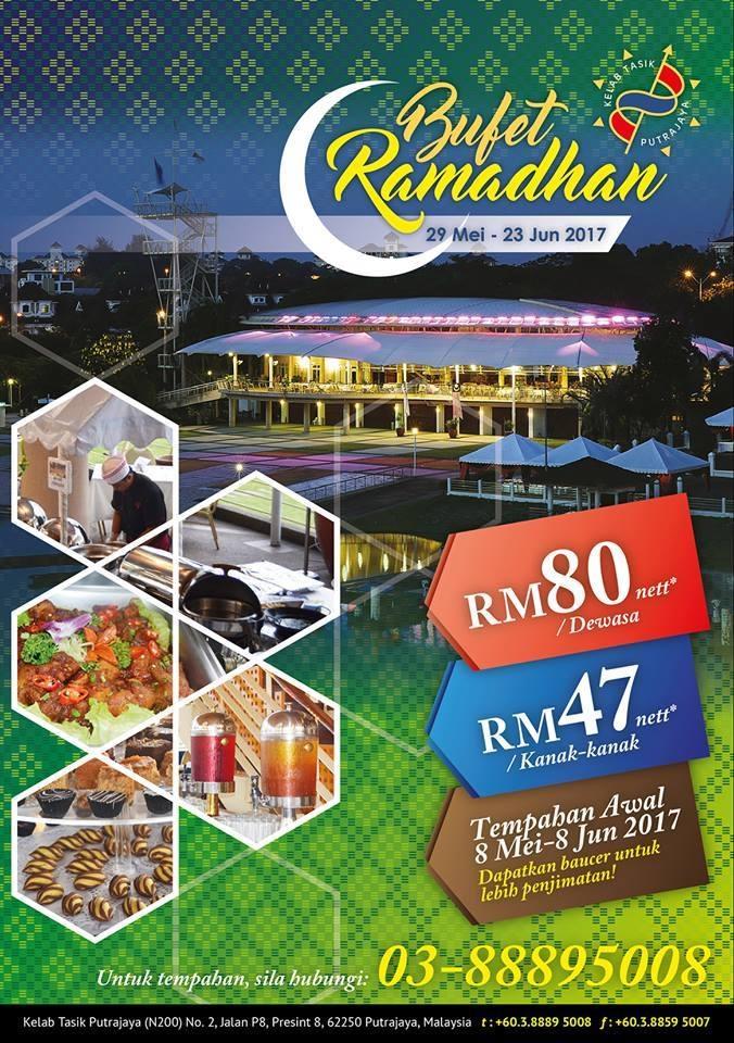 buffet ramadhan kelab tasik putrajaya