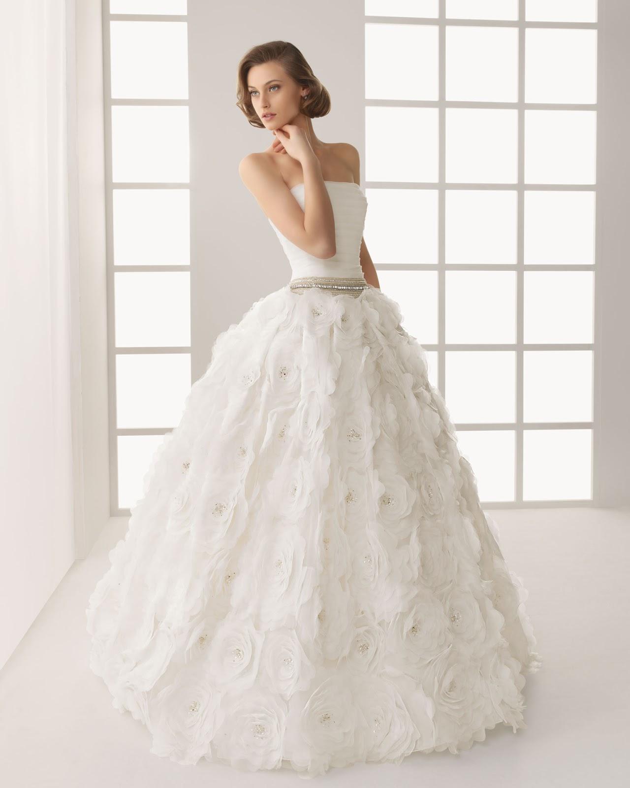 38424c07b Una novia diferente  Two by Rosa Clará special sale  vestidos de ...