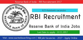 RBI job vacacnies