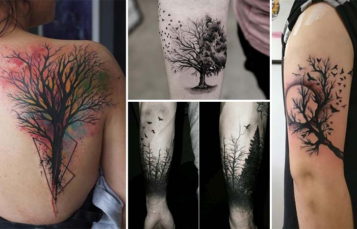 ağaç dövme modelleri tree tattoo designs