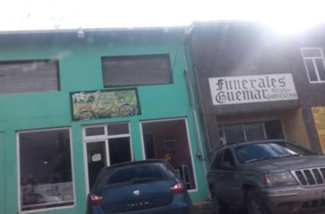 Tiran a 5 personas decapitadas en funeraria de Guachochi Chihuahua