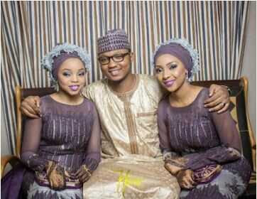 Two Beautiful Sisters Wed Same Time in Zaria, Kaduna State